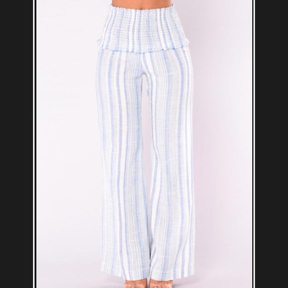 Fashion Nova Dreamer High Rise Pants NWT